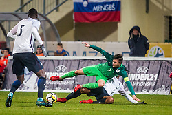 Martin Kramaric of Slovenia during football match between Slovenia and France in Qualifying round for European Under-21 Championship 2019, on November 13, 2017 in Sportni park, Domzale, Slovenia.  Photo by Ziga Zupan / Sportida