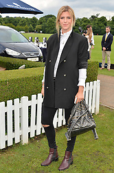 ANNABEL SIMPSON at the Laureus King Power Cup polo match held at Ham Polo Club, Richmond on 16th June 2016.
