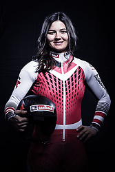 12.10.2019, Olympiahalle, Innsbruck, AUT, FIS Weltcup Ski Alpin, im Bild Sabrina Maier // during Outfitting of the Ski Austria Winter Collection and the official Austrian Ski Federation 2019/ 2020 Portrait Session at the Olympiahalle in Innsbruck, Austria on 2019/10/12. EXPA Pictures © 2020, PhotoCredit: EXPA/ JFK