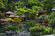 The Main Entrance to Madre Tierra resort in Vilcabamba, Ecuador