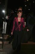Esther Rantzen, Cirque de Soleil Premiere of Alegr'a. Royal Albert Hall. London. 5 January 2006.  -DO NOT ARCHIVE-© Copyright Photograph by Dafydd Jones. 248 Clapham Rd. London SW9 0PZ. Tel 0207 820 0771. www.dafjones.com.