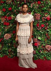 Jade Anouka attending the Evening Standard Theatre Awards 2018 at the Theatre Royal, Drury Lane in Covent Garden, London