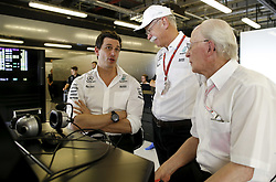 November 25, 2017 - Abu Dhabi, United Arab Emirates - Motorsports: FIA Formula One World Championship 2017, Grand Prix of Abu Dhabi, .Toto Wolff (AUT, Mercedes AMG Petronas Formula One Team), Dr. Dieter Zetsche (Chairman of the Board of Management of Daimler AG, Head of Mercedes-Benz Cars) (Credit Image: © Hoch Zwei via ZUMA Wire)