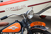 A Command Aire parts delivery Servi-Cycle with the 1929 3C3-T Command Aire at WAAAM.