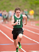 NHIAA Division III Track Championships at Newfound Regional High School May 28, 2011.  Karen Bobotas/for the Concord Monitor