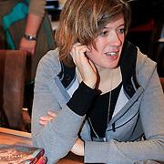 NLD/Amstrdam/20130123 - Nationale Voorleesdag op de basisschool Corantijn te Amsterdam, Maren Stoffels