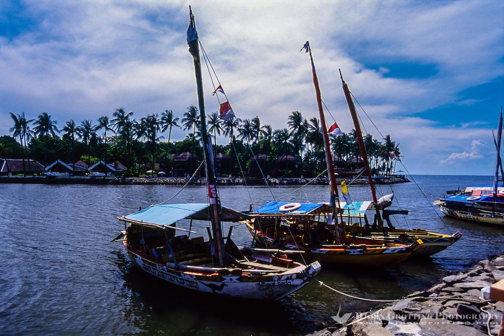 Indonesia, Java, Jakarta. Ancol Bay City, a resort destination located along Jakarta's waterfront.