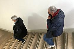 FRATELLI GIANELLA CON AVVOCATO DARIO BOLOGNESI<br /> UDIENZA BRANCHI GIANELLA DON BUSCAGIN GORO