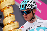 Christopher Froome (GBR - Team Sky) before the 101th Tour of Italy, Giro d'Italia 2018, stage 5, Agrigento - Santa Ninfa 152 km on May 9, 2018 in Italy - Photo Dario Belingheri / BettiniPhoto / ProSportsImages / DPPI