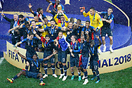 Team France victory after the 2018 FIFA World Cup Russia, final football match between France and Croatia on July 15, 2018 at Luzhniki Stadium in Moscow, Russia - Photo Stanley Gontha / Proshots / ProSportsImages / DPPI
