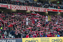 March 3, 2019 - Lille, France - Ambiance supporters Losc (Credit Image: © Panoramic via ZUMA Press)