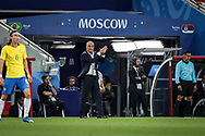 Brazil head coach Tite during the 2018 FIFA World Cup Russia, Group E football match between Erbia and Brazil on June 27, 2018 at Spartak Stadium in Moscow, Russia - Photo Thiago Bernardes / FramePhoto / ProSportsImages / DPPI