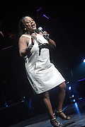 14 June 2010- Harlem, New York- Sharon Jones and the Dap Kings performs at The Apollo Theater's 2010 Spring Benefit and Awards Ceremony hosted by Jamie Foxx inducting Aretha Frankilin and Michael Jackson, and honoring Jennifer Lopez and Marc Anthony co- sponsored by Moet et Chandon which was held at the Apollo Theater on June 14, 2010 in Harlem, NYC. Photo Credit: Terrence Jennngs/Sipa