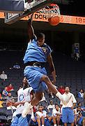 G/F Tony Mitchell (Swainsboro, GA / Swainsboro) dunks the ball during the NBA Top 100 Camp held Friday June 22, 2007 at the John Paul Jones arena in Charlottesville, Va. (Photo/Andrew Shurtleff)
