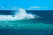 Waves in Atlantic Ocean, Peggy's Cove, Nova Scotia, Canada