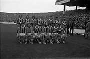 07/09/1975<br /> 09/07/1975<br /> 7 September 1975<br /> All-Ireland Hurling Final: Kilkenny v Galway at Croke Park, Dublin. <br /> The Kilkenny team which won the All-Ireland Hurling Final.