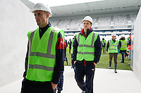 Nicolas Pallois - 23.03.2015 - Visite du Stade de Bordeaux -<br /> Photo : Caroline Blumberg / Icon Sport *** Local Caption ***