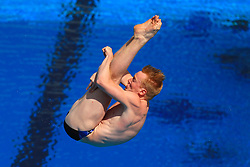 Scotland's James Heatly competes in the Men's 1m Springboard Final at the Optus Aquatic Centre during day seven of the 2018 Commonwealth Games in the Gold Coast, Australia.