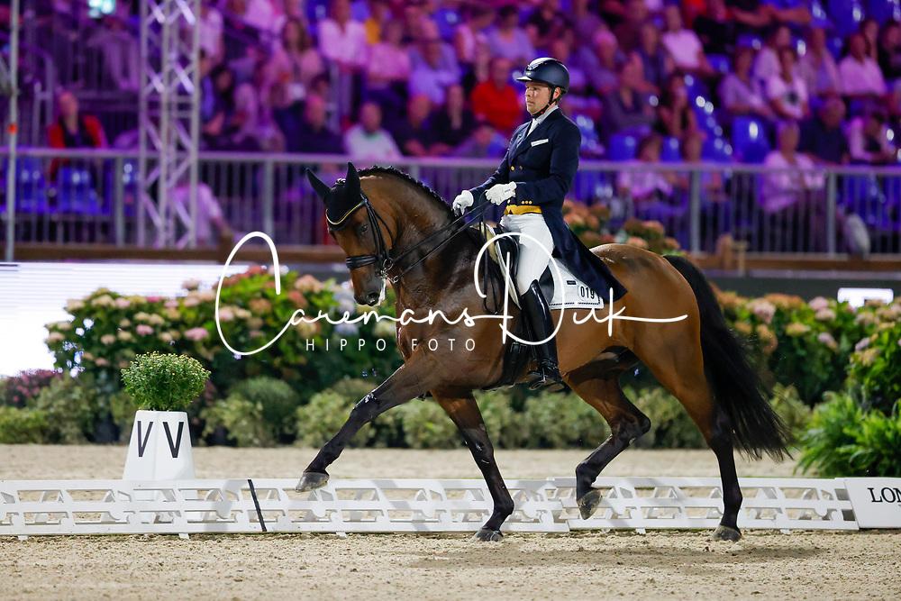 Ruoste Henri, FIN, Kontestro DB<br /> European Championship Dressage - Hagen 2021<br /> © Hippo Foto - Dirk Caremans<br /> 09/09/2021