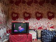 TV. In Roshorv village.