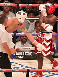 YouTubers Jake Paul face off against Deji in a boxing match in Manchester which saw Jake Paul the winner. 25 Aug 2018 Pictured: Jake Paul face off against Deji. Photo credit: Andy Kelvin/Kelvinmedia / MEGA TheMegaAgency.com +1 888 505 6342