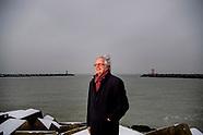 portret van Peter Glas, de nieuwe Deltacommissaris