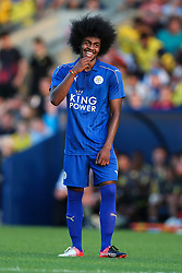 Hamza Choudhury of Leicester City - Mandatory byline: Jason Brown/JMP - 19/07/2016 - FOOTBALL - Oxford, Kassam Stadium - Oxford United v Leicester City - Pre Season Friendly