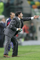 """LISBOA 21 MARCH 2005: # and # in the 26 leg of the Super Liga, season 2004/2005, match  Sporting CP (2) vs FC Porto (0), held in """"Alvalade XXI"""" stadium,  21/03/2005  22:21:39<br /> (PHOTO BY: NUNO ALEGRIA/AFCD)<br /> <br /> PORTUGAL OUT, PARTNER COUNTRY ONLY, ARCHIVE OUT, EDITORIAL USE ONLY, CREDIT LINE IS MANDATORY AFCD-PHOTO AGENCY 2004 © ALL RIGHTS RESERVED"""