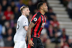 AFC Bournemouth's Callum Wilson reacts after being tackled inside the box