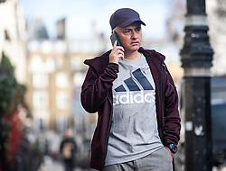 "© Licensed to London News Pictures. 20/12/2018. London, UK. Former Manchester United manager JOSE MOURINHO is seen at his London home. The self titled ""Special One"" was sacked following defat to Liverpool at the weekend. Photo credit: Ben Cawthra/LNP"
