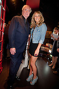 CHLOE MADELEY; SIR MICHAEL CAINE, The Galleries of Modern London launch party at the Museum of London on May 27, 2010 in London. <br /> -DO NOT ARCHIVE-© Copyright Photograph by Dafydd Jones. 248 Clapham Rd. London SW9 0PZ. Tel 0207 820 0771. www.dafjones.com.