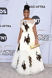 Lyric Ross attends the 25th Annual Screen Actors Guild Awards at The Shrine Auditorium on January 27, 2019 in Los Angeles, CA, USA. ©Lionel Hahn/ABACAPRESS.COM