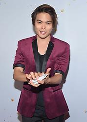 August 15, 2018 - Los Angeles, California, USA - 8/14/18.Shin Lim at ''America''s Got Talent'' Red Carpet event in Los Angeles, CA. (Credit Image: © Starmax/Newscom via ZUMA Press)