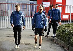 December 10, 2018 - Bruges, Belgique - BRUGGE, DECEMBER 10 : Jelle Vossen forward of Club Brugge and Ruud Vormer midfielder of Club Brugge pictured during practice session the day before the UEFA Champions League group A match between Club Brugge KV and Atletico Madrid on December 10, 2018 in Brugge, 10/12/2018 (Credit Image: © Panoramic via ZUMA Press)