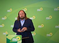 DEU, Deutschland, Germany, Berlin, 28.09.2020: Anton Hofreiter, Vorsitzender der Bundestagsfraktion von BÜNDNIS 90/DIE GRÜNEN, bei einem Pressestatement im Deutschen Bundestag.