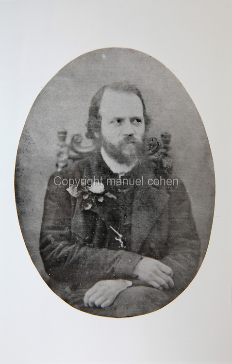 Portrait of Charles-Henri-Valentin Morhange, known as Alkan, 1813-88, French composer and pianist, seated, photograph, 1860-65. Copyright © Collection Particuliere Tropmi / Manuel Cohen