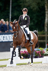 Hogberg Jeanna, SWE, Astoria<br /> Longines FEI/WBFSH World Breeding Dressage Championships for Young Horses - Ermelo 2017<br /> © Hippo Foto - Dirk Caremans<br /> 04/08/2017
