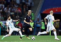 Lionel Messi (Argentina) and Ivan Rakitic (Croatia)<br /> <br /> Nizhny Novgorod 21-06-2018 Football FIFA World Cup Russia  2018 <br /> Argentina - Croatia / Argentina - Croazia <br /> Foto Matteo Ciambelli/Insidefoto