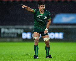 Jarrad Butler of Connacht<br /> <br /> Photographer Simon King/Replay Images<br /> <br /> Guinness PRO14 Round 6 - Ospreys v Connacht - Saturday 2nd November 2019 - Liberty Stadium - Swansea<br /> <br /> World Copyright © Replay Images . All rights reserved. info@replayimages.co.uk - http://replayimages.co.uk