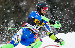 KUERNER Miha of Slovenia competes during the 1st Run of 10th Men's Slalom - Pokal Vitranc 2013 of FIS Alpine Ski World Cup 2012/2013, on March 10, 2013 in Vitranc, Kranjska Gora, Slovenia. (Photo By Vid Ponikvar / Sportida.com)