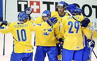 Jubel bei Magnus Johansson, Johan Harju und dem Team (SWE) © Melanie Duchene/EQ Images