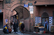 Entrance to the Kasbah, Marrakesh
