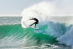 Sebastian Zietz (HAW) advances directly to Round 3 of the 2018 Corona Open J-Bay after winning Heat 2 of Round 1 at Supertubes, Jeffreys Bay, South Africa.