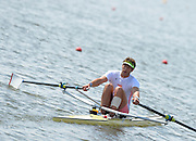 Caverham, Great Britain,  Men's Single scull winner, Charles COUSINS, after winning the final. Redgrave Pinsent Rowing Lake GB Rowing Senior U23 Trials at the GB Rowing centre. 12:17:31  Sunday  21/04/2013  [Mandatory Credit. Peter Spurrier/Intersport Images] GBRT Senior U23 Trails,