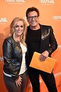 100% NL Awards 2018 in Panama, Amsterdam.<br /> <br /> Op de foto:   Gerard Joling en Samantha Steenwijk
