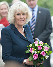 Prince of Wales and Duchess of Cornwall at the Olympic Park 13-6-12