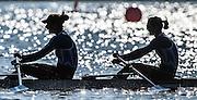 Brandenburg. GERMANY.<br /> GRE W2X. 2016 European Rowing Championships at the Regattastrecke Beetzsee<br /> <br /> Sunday  08/05/2016<br /> <br /> [Mandatory Credit; Peter SPURRIER/Intersport-images]