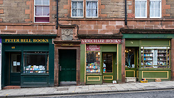 Armchair Books and Peter bell Books  second hand bookshops in Edinburgh Old Town , Scotland, United Kingdom
