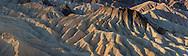 Eroded hills at Zabriskie Point, Death Valley National Park, California