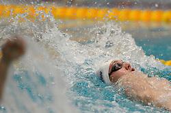 12-12-2014 NED: Swim Cup 2014, Amsterdam<br /> Axel Petterson SWE, 200m backstroke